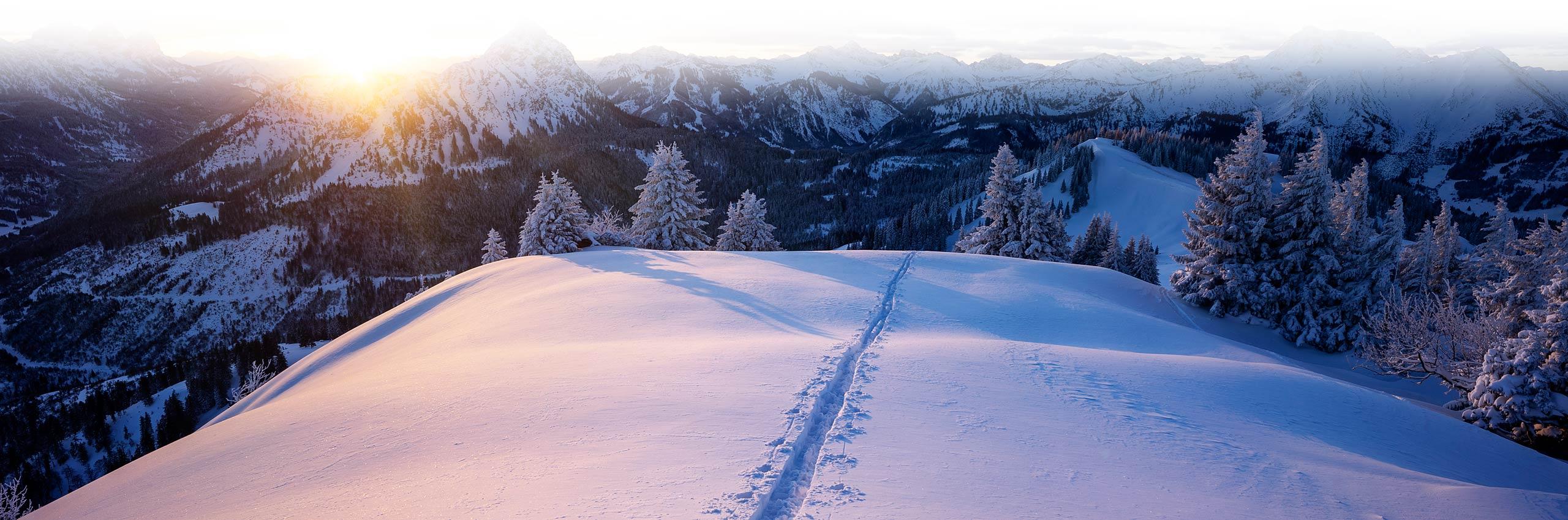 Das Landhaus - Winterurlaub in Pfronten im Allgäu