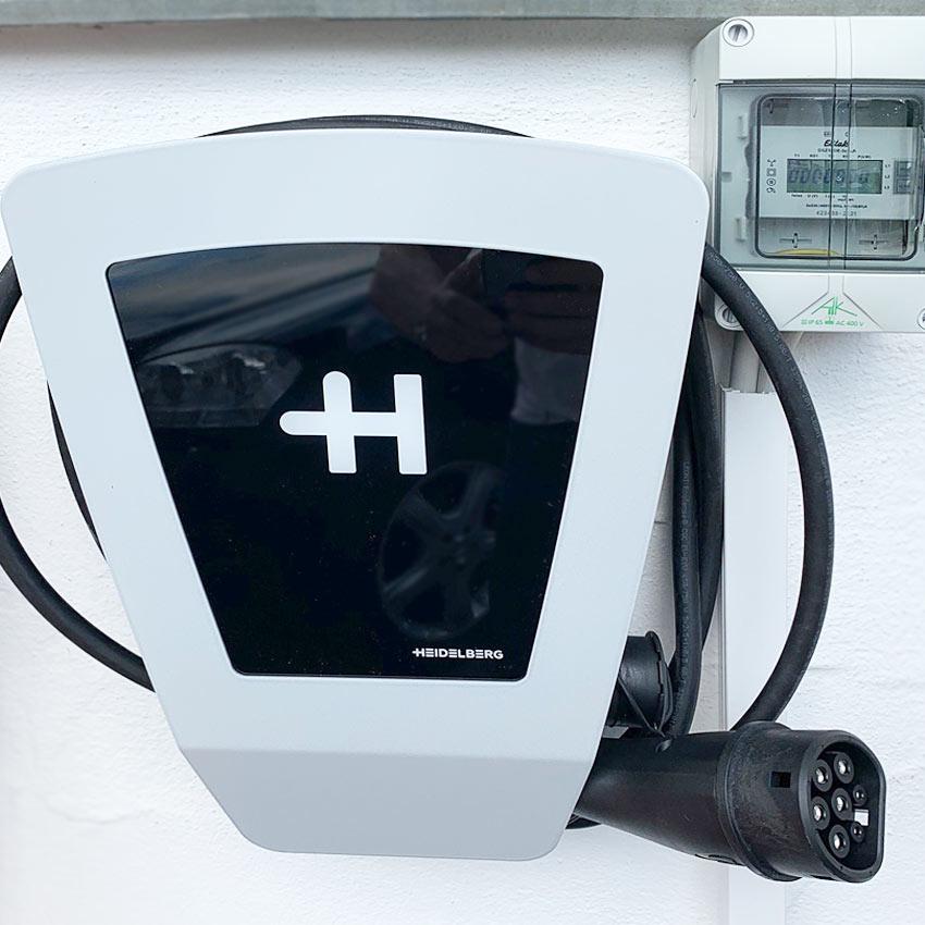 E-Auto Ladestation